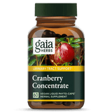 Gaia Herbs Cranberry 60ct-Supplements-The Scarlet Sage Herb Co.