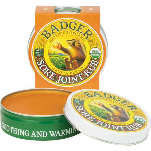 Badger Balm Sore Joint Rub-The Scarlet Sage Herb Co.
