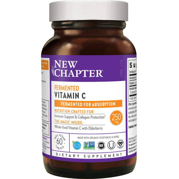 New Chapter C Complex 60ct-Supplements-The Scarlet Sage Herb Co.