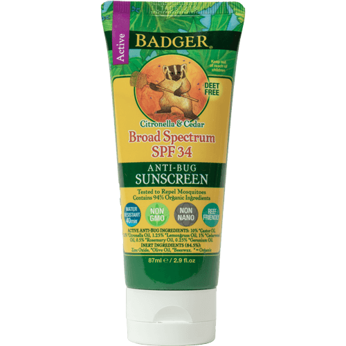 Badger SPF 34 Anti-bug 2.9oz - The Scarlet Sage Herb Co.