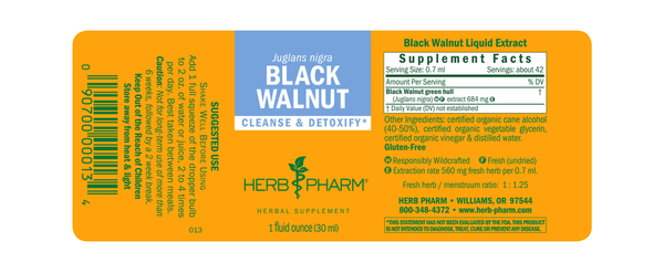 Herb Pharm Black Walnut 1oz