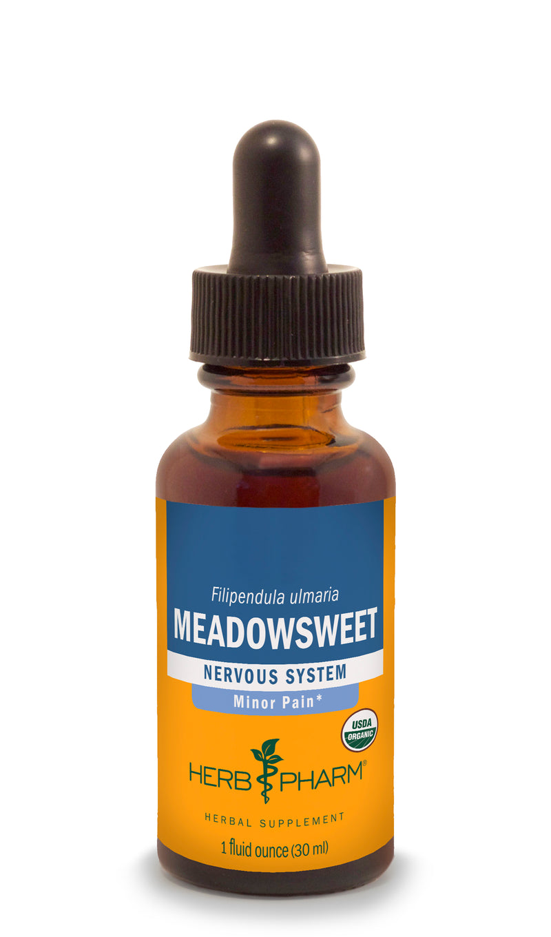 Herb Pharm Meadowsweet 1oz-Tinctures-The Scarlet Sage Herb Co.