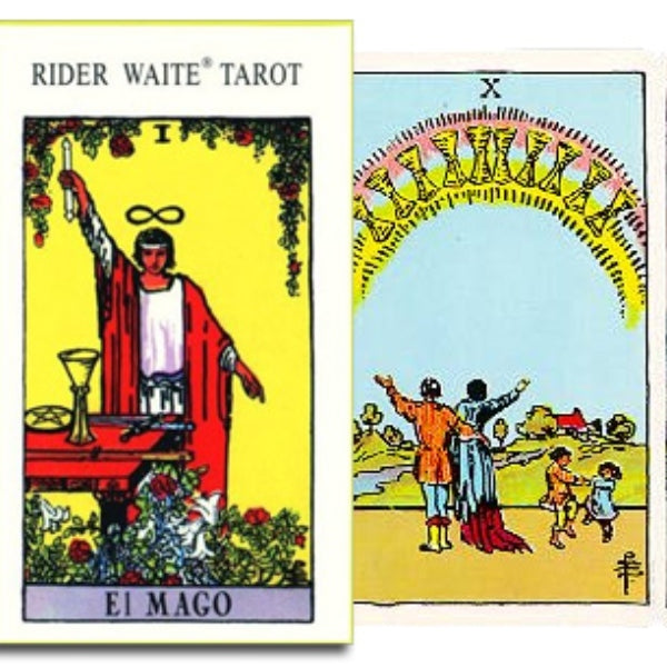 Rider Waite Tarot Spanish-The Scarlet Sage Herb Co.