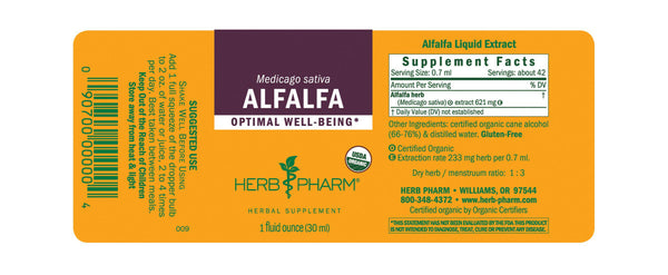 Herb Pharm Alfalfa 1oz