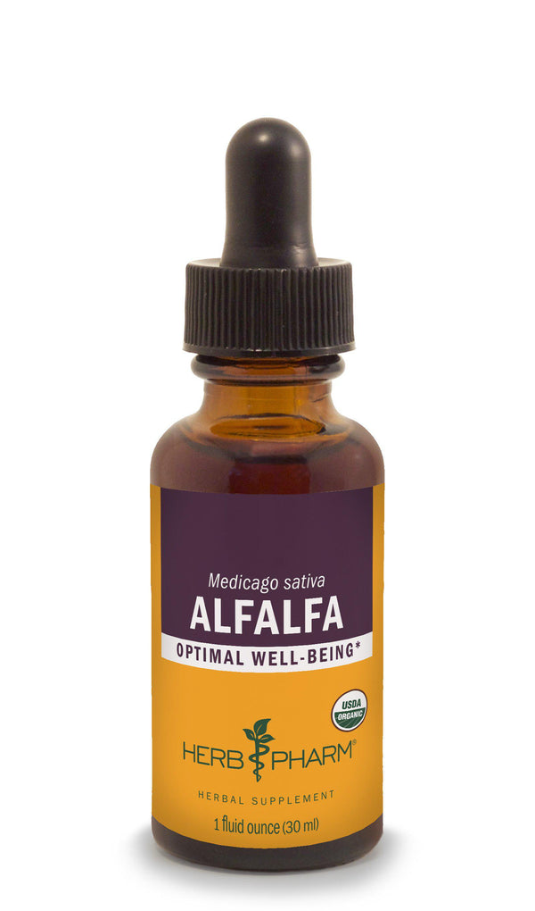 Herb Pharm Alfalfa 1oz-Tinctures-The Scarlet Sage Herb Co.