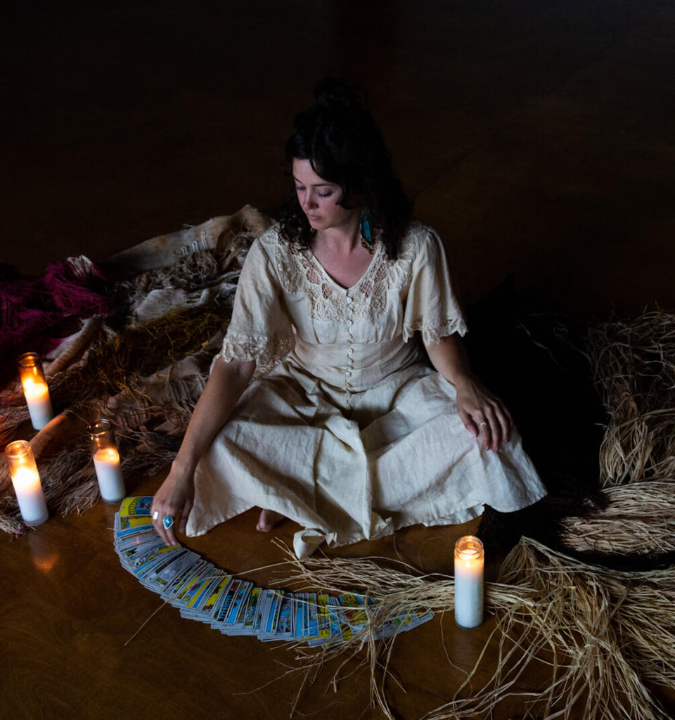 The Woven Tarot: Tarot and the Four Clairs with Mary Grisey - November  28th, 7-9pm