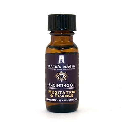 Kate's Magik Anointing Oil Meditation & Trance .5oz - The Scarlet Sage Herb Co.