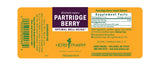 Herb Pharm Partridge Berry 1oz-Tinctures-The Scarlet Sage Herb Co.