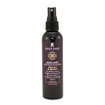 Kate's Magik Aura Mist Heart & Spirit 4oz - The Scarlet Sage Herb Co.