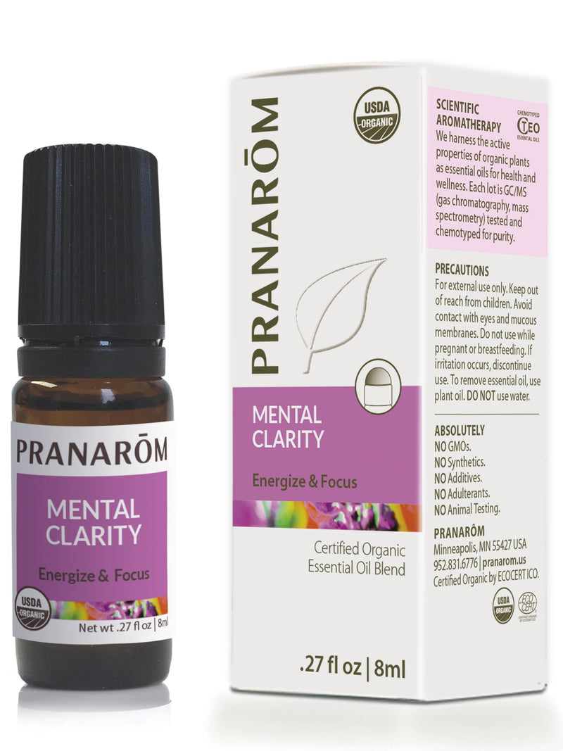 Pranarom Mental Clarity-Aromatherapy-The Scarlet Sage Herb Co.
