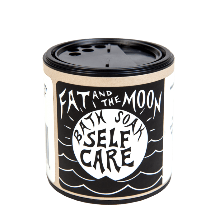Fat and the Moon Self Care Bath Soak 6 oz - The Scarlet Sage Herb Co.