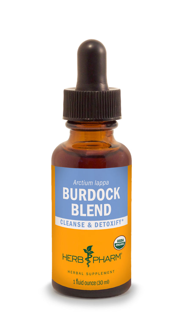 Herb Pharm Burdock Blend 1oz-Tinctures-The Scarlet Sage Herb Co.