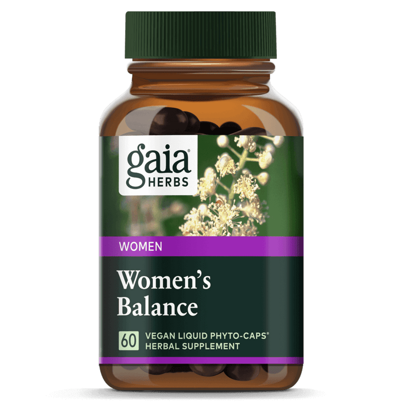 Gaia Herbs Womens Balance 60ct-Supplements-The Scarlet Sage Herb Co.