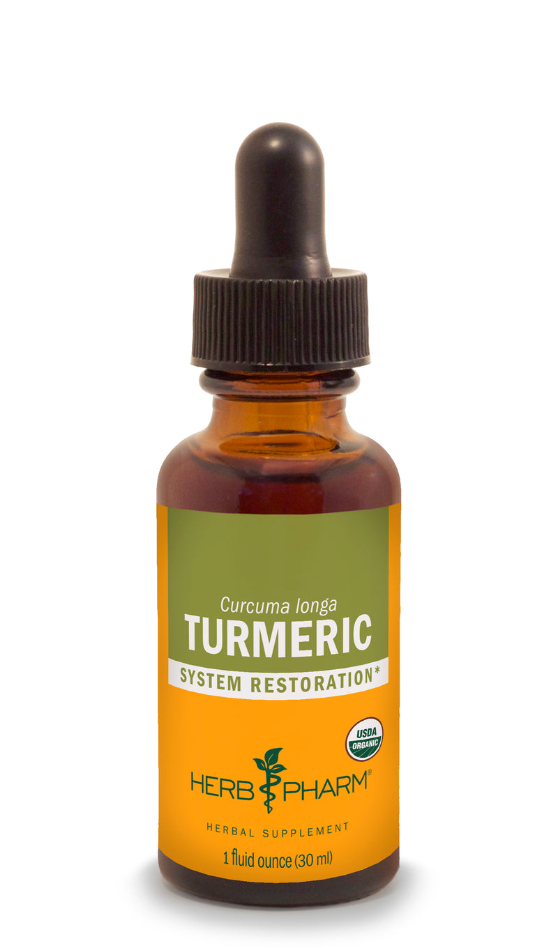 Herb Pharm Turmeric 1oz-Tinctures-The Scarlet Sage Herb Co.