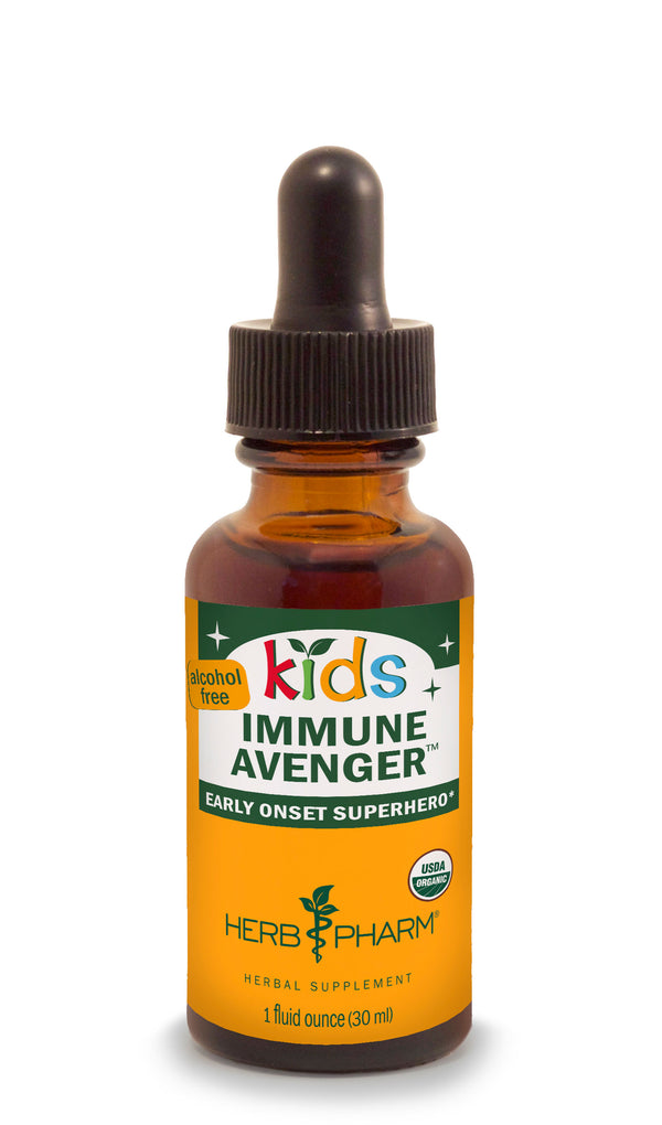 Herb Pharm Kids Immune Avenger 1oz-Tinctures-The Scarlet Sage Herb Co.