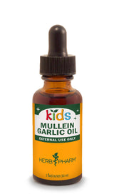 Herb Pharm Kids Mullein Garlic Oil 1oz-Tinctures-The Scarlet Sage Herb Co.