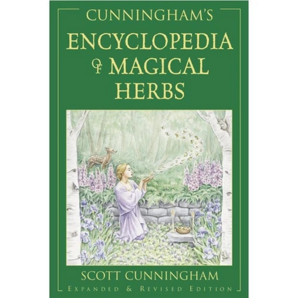 Encyclopedia Of Magical Herbs by Scott Cunningham-Books-The Scarlet Sage Herb Co.