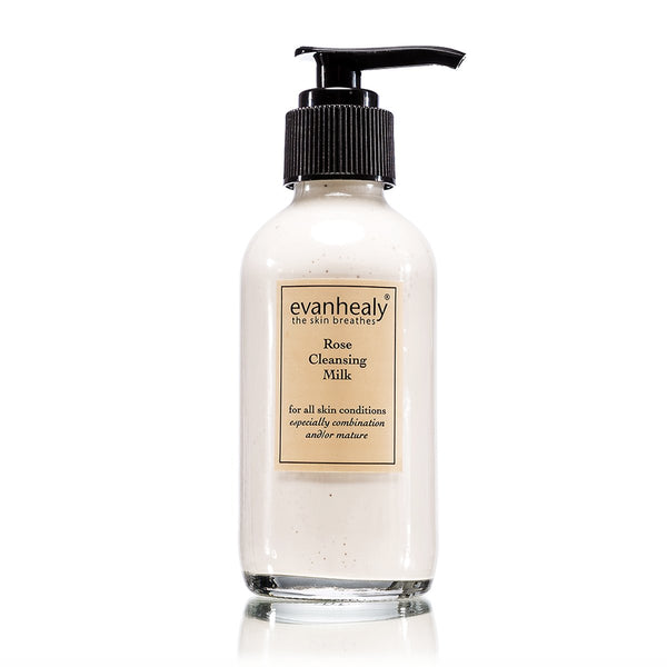 evanhealy Rose Cleansing Milk 4oz-Skincare-The Scarlet Sage Herb Co.