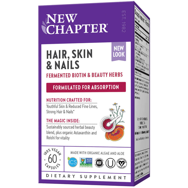 New Chapter Hair Skin Nails-Supplements-The Scarlet Sage Herb Co.