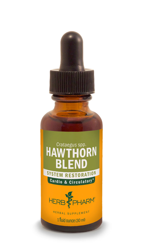 Herb Pharm Hawthorn Blend 4oz-Tinctures-The Scarlet Sage Herb Co.