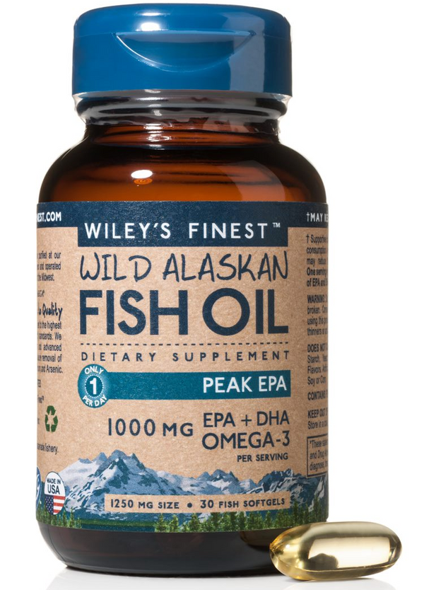 Wileys Finest Peak EPA 30ct-Supplements-The Scarlet Sage Herb Co.