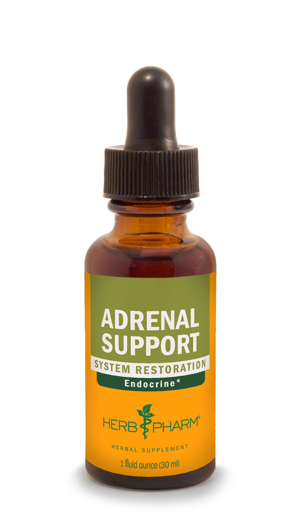 Herb Pharm Adrenal Support 1oz-Tinctures-The Scarlet Sage Herb Co.