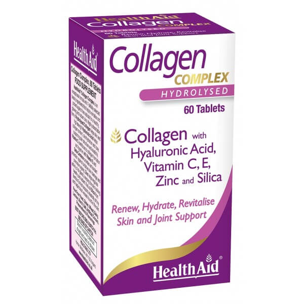Health Aid Collagen 60ct - The Scarlet Sage Herb Co.