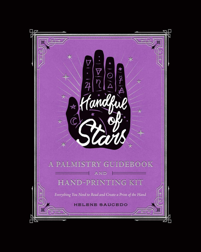 Handful Of Stars - A Palmistry Guidebook And Hand-Printing Kit-Default-The Scarlet Sage Herb Co.
