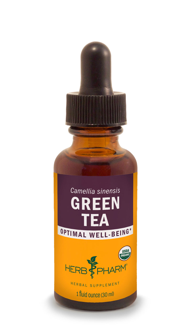 Herb Pharm Green Tea 1oz-Tinctures-The Scarlet Sage Herb Co.