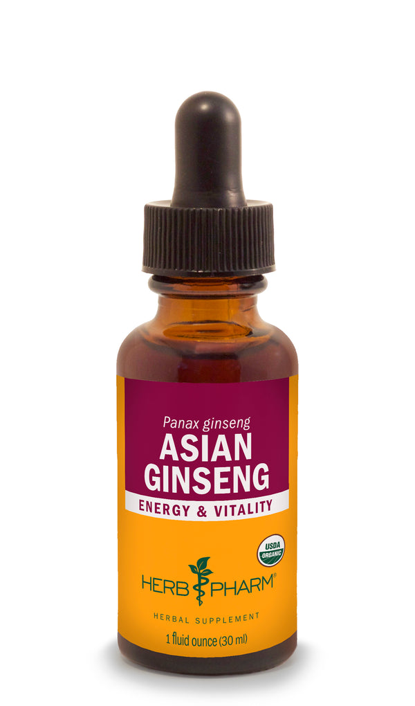 Herb Pharm Asian Ginseng 1oz-Tinctures-The Scarlet Sage Herb Co.