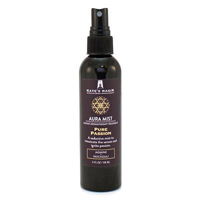 Kate's Magik Aura Mist Pure Passion 4oz - The Scarlet Sage Herb Co.