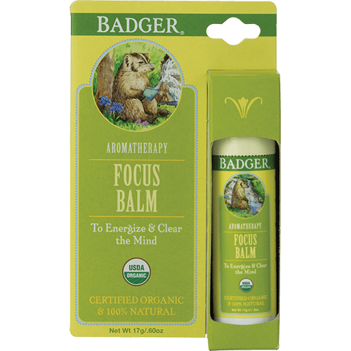Badger Aromatherapy Focus .60oz - The Scarlet Sage Herb Co.