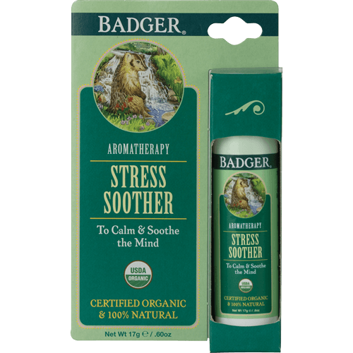 Badger Aromatherapy Stress Soother .60oz - The Scarlet Sage Herb Co.