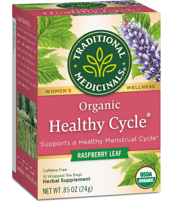 Traditional Medicinals Healthy Cycle 16Ct.-Teas-The Scarlet Sage Herb Co.