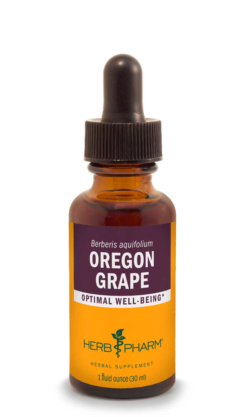 Herb Pharm Oregon Grape 1oz-Tinctures-The Scarlet Sage Herb Co.