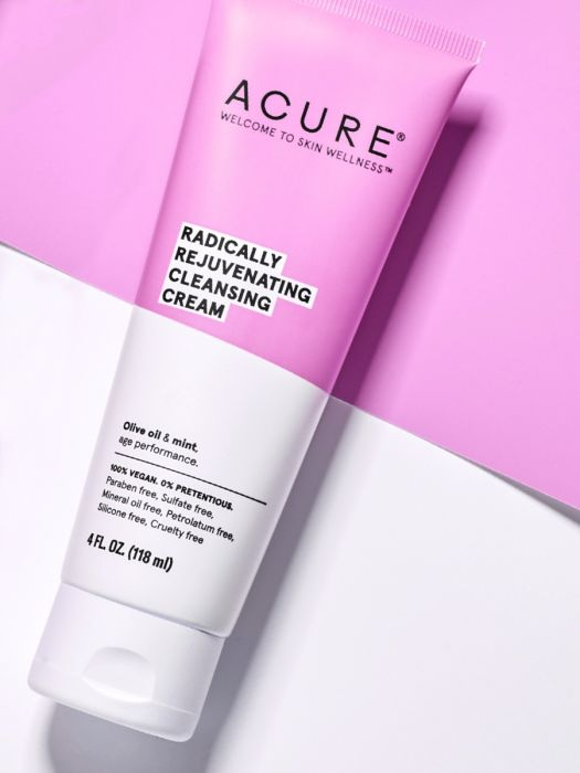 Acure Cleansing Cream Radically Rejuvenating-Facial Skincare-The Scarlet Sage Herb Co.