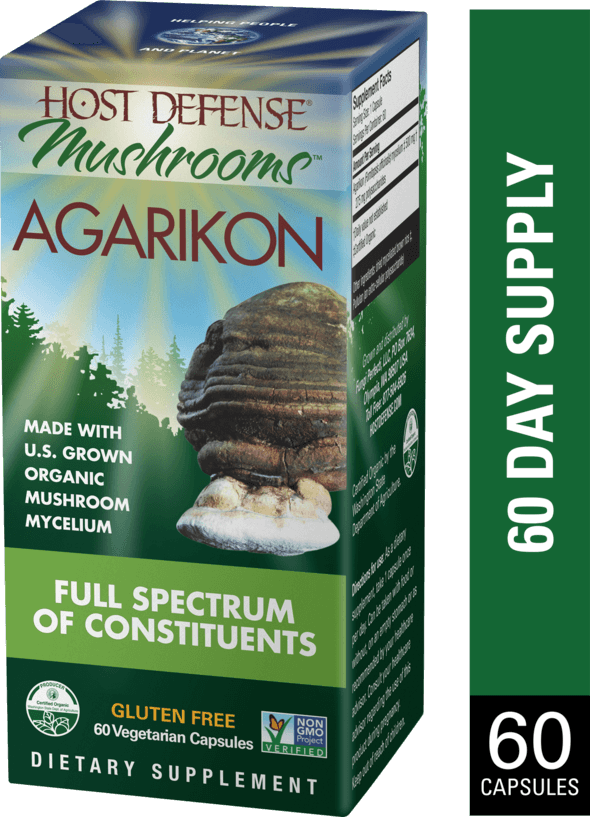 Host Defense Agarikon 60ct - The Scarlet Sage Herb Co.