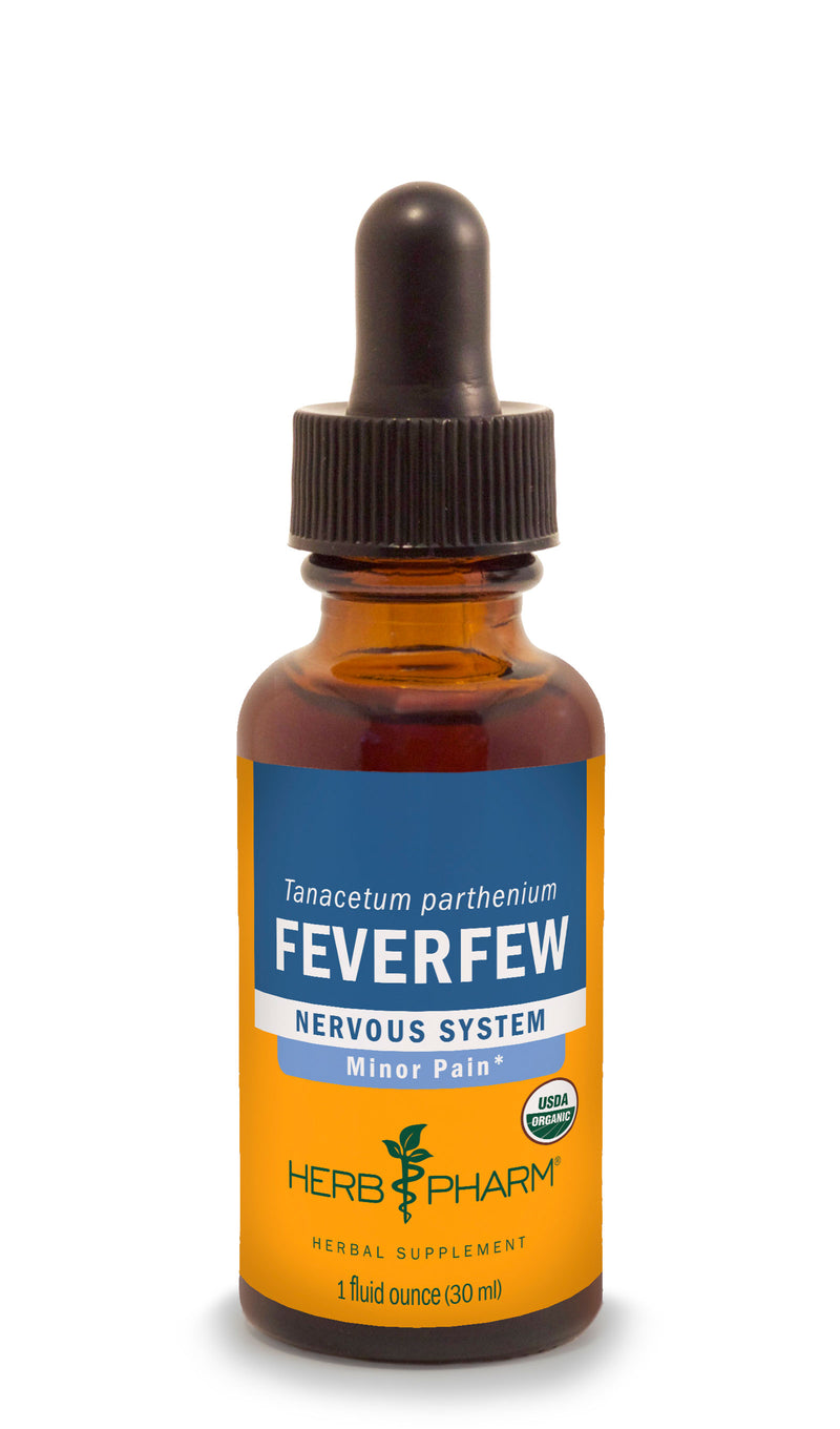 Herb Pharm Feverfew 1oz-Tinctures-The Scarlet Sage Herb Co.
