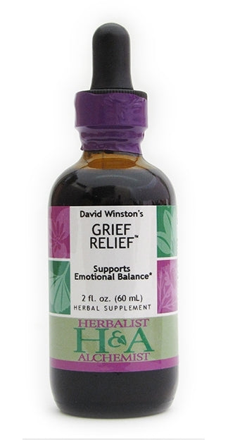 Herbalist & Alchemist Grief Relief-Tinctures-The Scarlet Sage Herb Co.