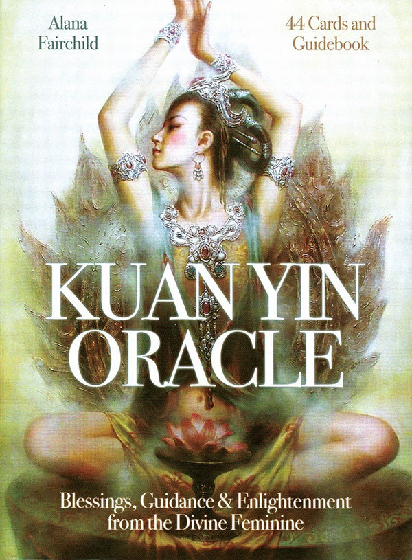 Kuan Yin Oracle deck-The Scarlet Sage Herb Co.