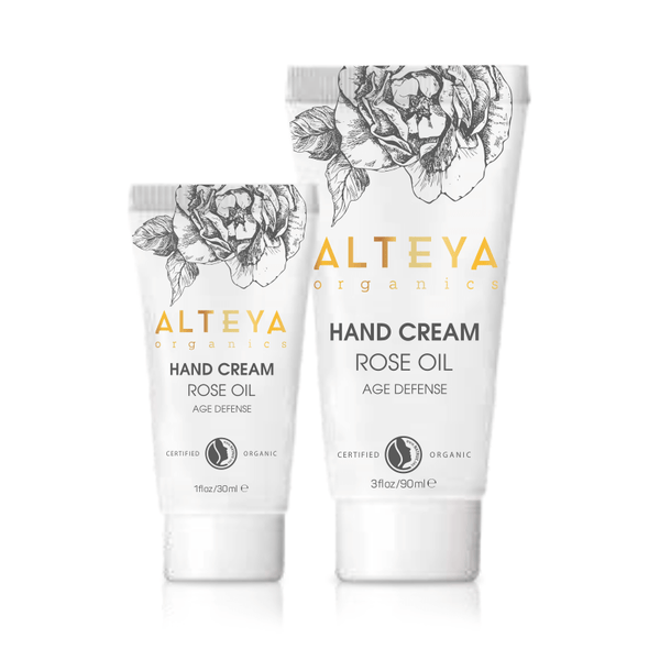Alteya Hand Cream Rose Oil 1oz. - The Scarlet Sage Herb Co.