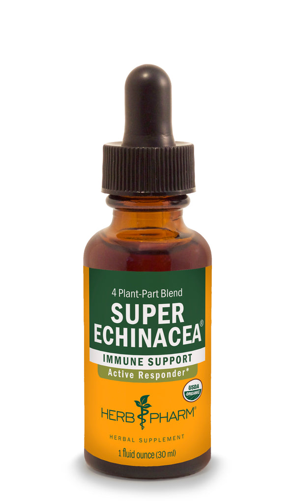 Herb Pharm Super Echinacea 4oz-Tinctures-The Scarlet Sage Herb Co.