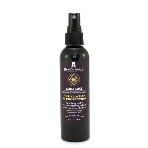 Kate's Magik Aura Mist Purification & Protection 4oz - The Scarlet Sage Herb Co.