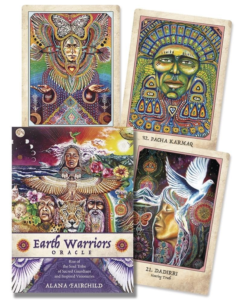 Earth Warrior Oracle - The Scarlet Sage Herb Co.