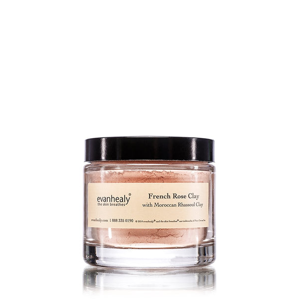 evanhealy Clay Mask Rose 1oz-Skincare-The Scarlet Sage Herb Co.