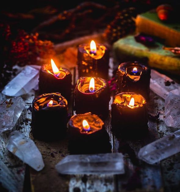 Candle Magic for Imbolc with the Modern Witches Confluence Community - January 31st, 7-8:30pm - The Scarlet Sage Herb Co.