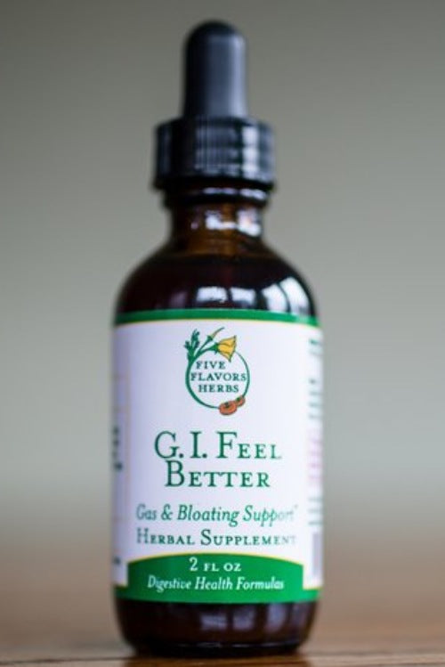 Five Flavors Herbs GI Feel Better 2oz - The Scarlet Sage Herb Co.