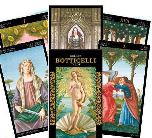 Golden Botticelli Tarot-The Scarlet Sage Herb Co.