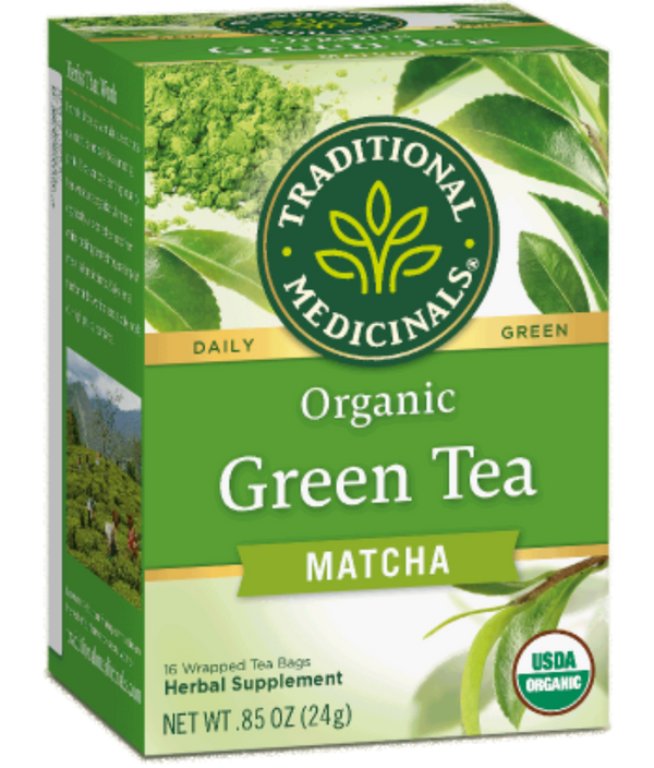 Traditional Medicinals Green Tea Matcha 16ct