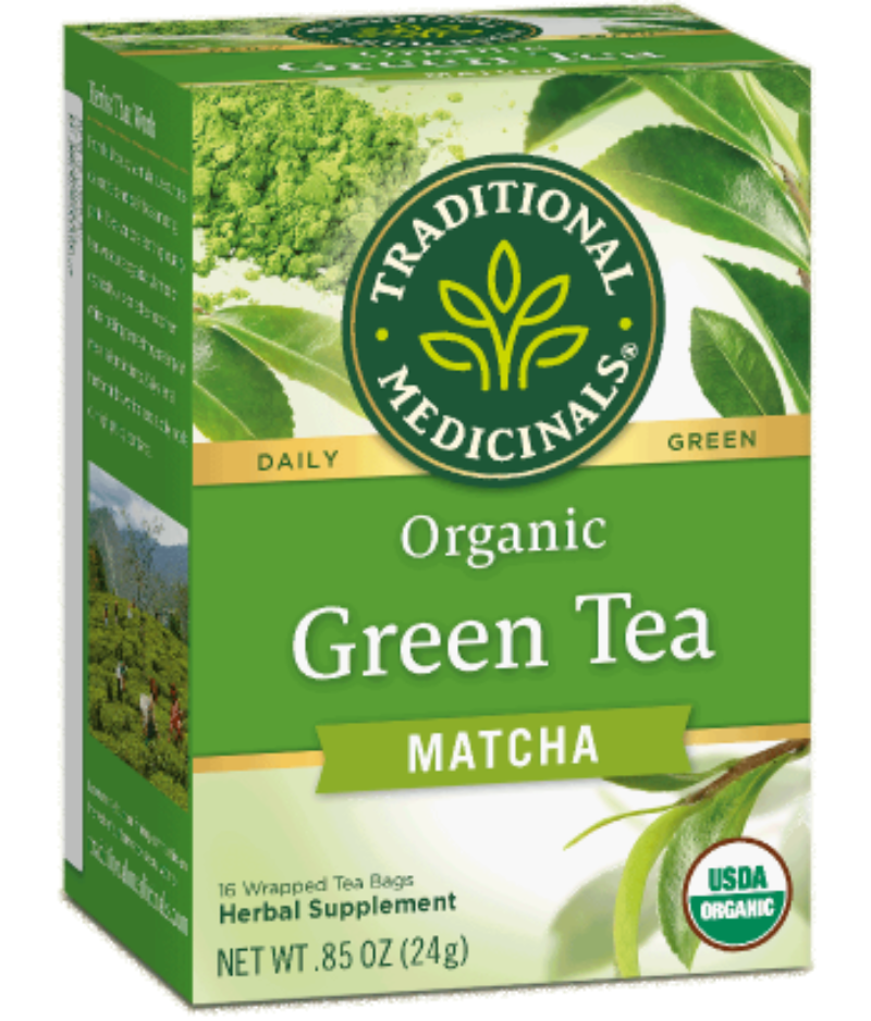 Traditional Medicinals Green Tea Matcha 16ct-Teas-The Scarlet Sage Herb Co.